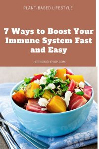 Boost your immune system fast and easy  seven tips